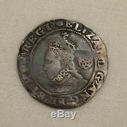Queen Elizabeth 1st silver hammered sixpence I coin