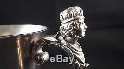 Queen Elizabeth 2nd English Sterling Silver Jubilee 1978 Coronation Cup Figural