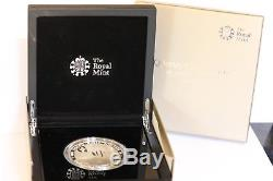 Queen Elizabeth 60th anniversary silver proof £10 ten pound coin 2013 boxed