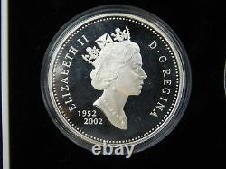 Queen Elizabeth Accession Silver Coin Set, Canada UK Australia