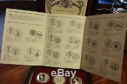 Queen Elizabeth II 40th Anniversary Coronation Silver 18 Crowns Collection