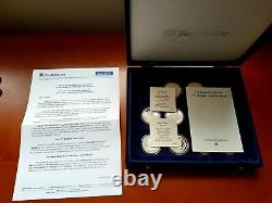 Queen Elizabeth II 75th Birthday 2001 Silver Proof Coin Collection VERY RARE
