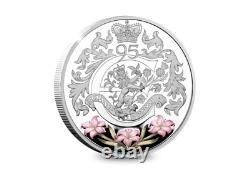Queen Elizabeth II 95th Birthday Silver Proof Coin