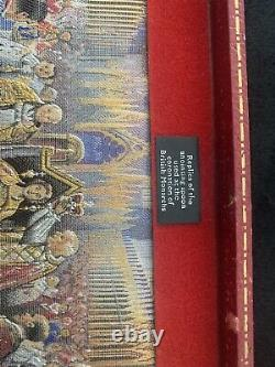 Queen Elizabeth II Anointing Spoon Set Coronation Sterling