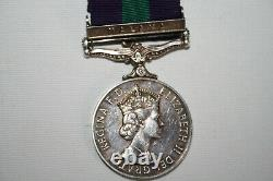 Queen Elizabeth II Dei Gratia Regina General Service Silver Malaya Medal Bailey