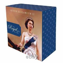 Queen Elizabeth II Royal Portraits 2020 $5 1oz Silver Proof Coin 2000 Made