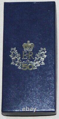 Queen Elizabeth II Silver Golden Medal