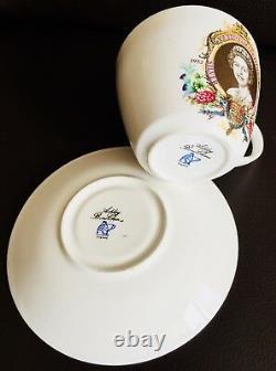 Queen Elizabeth II Silver Jubilee (1952-1977) Ashley Bone China Cup & Saucer Set