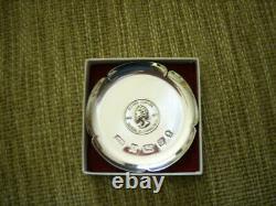 Queen Elizabeth II Silver Jubilee Commemorative Pin Tray
