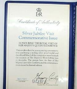 Queen Elizabeth II Silver Jubilee Visit to Australia 1977 Commemorative Issue