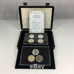 Queen Elizabeth II Traditional Crown Nomismatic Set 500/1000 Silver 7 Crown Set