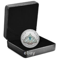 Queen Elizabeth II's Brazilian Aquamarine Tiara 2020 $20 Fine Silver Coin