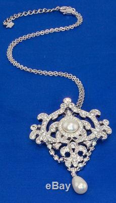 Queen Elizabeth II's Jubilee Pendant and Detachable Brooch