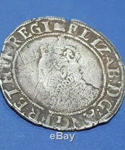 Queen Elizabeth I (1558-1603) silver shilling