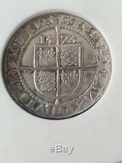 Queen Elizabeth I 1575 sixpence, NGC VF 20