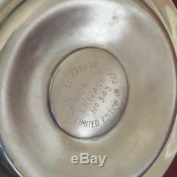 Queen Elizabeth I Sterling Silver Royal Lineage #343 Plate Coin Dish Rare