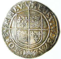 Queen Elizabeth I Tudor Silver Shilling 1582 1584 AD