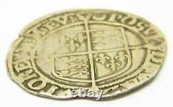 Queen Elizabeth I Tudor Silver Shilling 1587 1589 AD