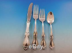 Queen Elizabeth I by Towle Sterling Silver Flatware Set for 12 Service 48 pieces