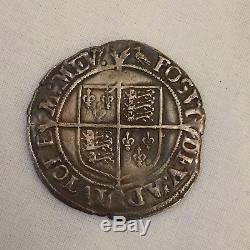 Queen Elizabeth I silver hammered shilling 1st