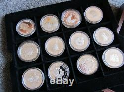 Queen Elizabeth The Queen Mother Silver Coin Set 24