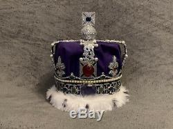 Queen Elizabeth crown Replica Handmade