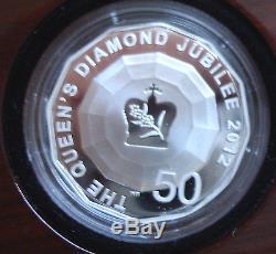 Queen Elizabeth's Diamond Jubilee 2012 Royal Silver 3 Coin Set (4000 sets)