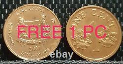RARE 1964 BERMUDA 1Crown QUEEN ELIZABETH II Silver Coin Ø36mm(+FREE1 coin)#12891