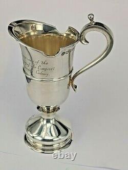 Rare Cased Queen Elizabeth II Hallmarked Sterling Silver Mayflower Cream Jug