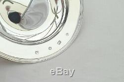 Rare Cased Queen Elizabeth II Hm Sterling Silver Armada Dish 1991