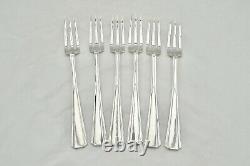 Rare Cased Queen Elizabeth II Hm Sterling Silver Canteen Of Cutlery 1958 R&b