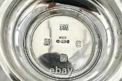 Rare Irish Queen Elizabeth II Hm Sterling Silver Pedestal Bowl 1970