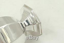 Rare Queen Elizabeth II Hm Sterling Silver Octagonal Sugar Caster 1964
