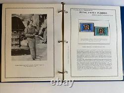 Rare Queen Elizabeth II Royal Silver Wedding Postage Stamp Album #217 Of 600