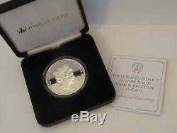Rare Queen Elizabeth Sapphire Jubilee 2017 Sterling Silver Proof Coin £5 Pounds