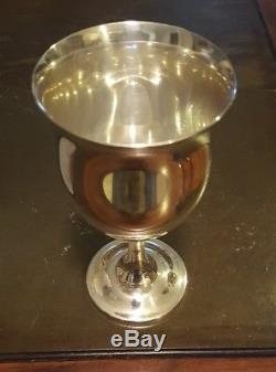 Reed And Barton Queen Elizabeth Sterling Silver Water Goblet H120