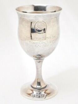 Reed & Barton H120 Queen Elizabeth Sterling Silver 6 1/4 8 oz Water Goblet