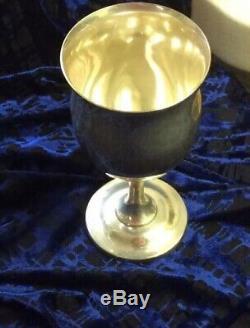 Reed & Barton H120 Queen Elizabeth Sterling Silver 6 1/4 8oz Goblet No Mono