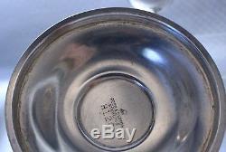 Reed & Barton Queen Elizabeth Sterling Silver Goblets Pair No monogram