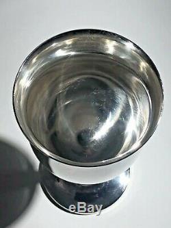 Reed & Barton Sterling Queen Elizabeth Tulip Shaped Water Goblet H120 5.8 Ozt