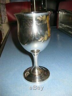 Reed & Barton Sterling Silver QUEEN ELIZABETH 6 1/4 Goblet H120 5.65 Troy oz