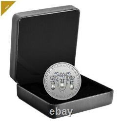 Royal Mint 1 oz. Silver Coin Her Majesty Queen Elizabeth's Lover's Knot Tiara