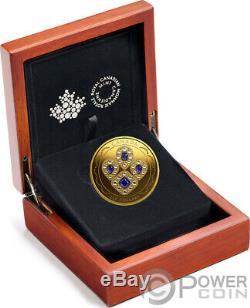 SAPPHIRE TIARA Queen Elizabeth 2 Oz Gold Coin 250$ Canada 2019