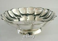 SOLID SILVER QUEEN ELIZABETH DISH JUBILEE BOWL DISH 1977 ENGLISH 122g ROYALTY