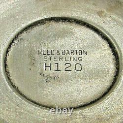 Set of 6 Reed & Barton Queen Elizabeth Sterling Goblets, H120 NO MONO