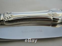 Set of 6 Towle Sterling Silver Queen Elizabeth I Place Knives