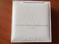Seychelles Silver Coin 2011 25 Rupees-Diamond Jubilee HM Queen Elizabeth II Holo