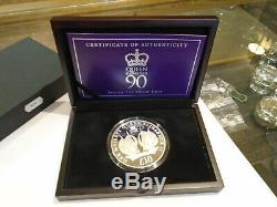 Silver coin 5oz Queen Elizabeth 11 90th 2016 13 of 450