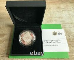 Simply Coins 2008 Silver Proof Queen Elizabeth 450th Anniv 5 Five Pound Coin
