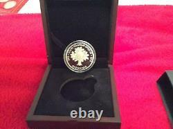Solid Silver Proof Queen Elizabeth II Longest Reigning Monarch Crown Coin